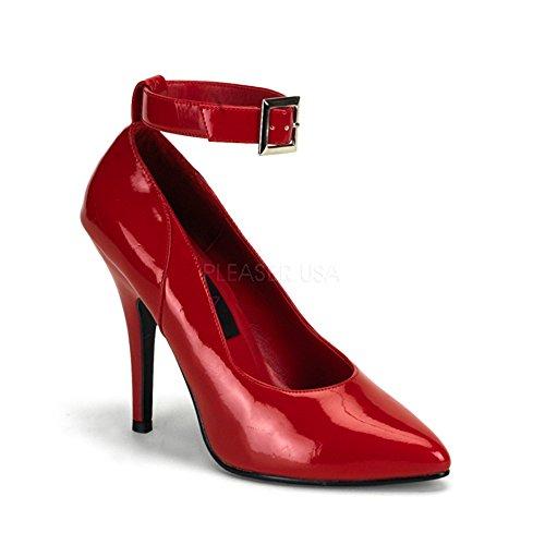 Heels-Perfect , Escarpins pour femme Rouge Rouge Rouge - Rot (Lack Rot)