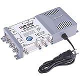 Bild des Produktes 'DUR-line MS 5/6 G-HQ Multischalter - SAT für 6 Teilnehmer/TV - mit stromspar Netzteil - Made in Germany - Multiswit'