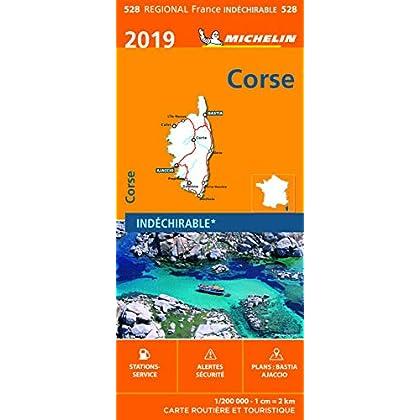 Carte Corse Michelin 2019