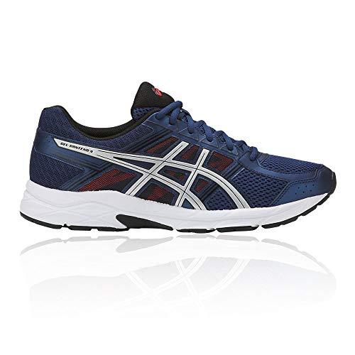 asics gel-contend 4, scarpe da running uomo, blu (deep ocean/silver 400), 40 eu
