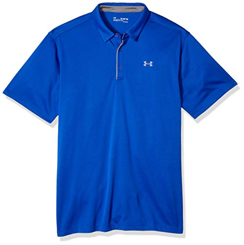 Under Armour Herren Tech Polo Kurzarmshirt, Royal (400), XL