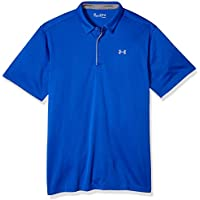 Under Armour Tech Polo, Hombre, Azul (Royal/Graphite 400), XL