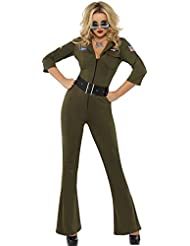Sexy Top Gun Kostüm Topgun Uniform Charlie Gr. 36/38 (S), 40/42 (M)