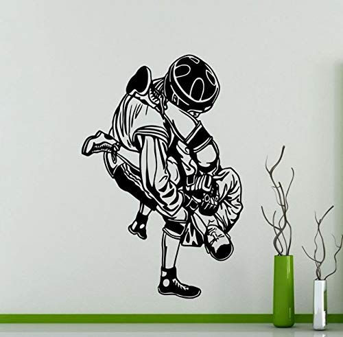 Etiqueta De La Pared, Ufc Fighters Etiqueta De La Pared Lucha Extrema Deporte Artes Marciales Vinilo Tatuajes De Pared Mural Wallpaper 57X85Cm