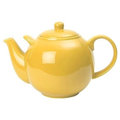 London Pottery-Théière - 10 tasses-Jaune citron