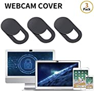 0.03inch Web Camera Cover Slide for Laptop, Computer, Macbook Pro, Mac, PC, Surface Pro, iPhone and Android Smartphones, Prot