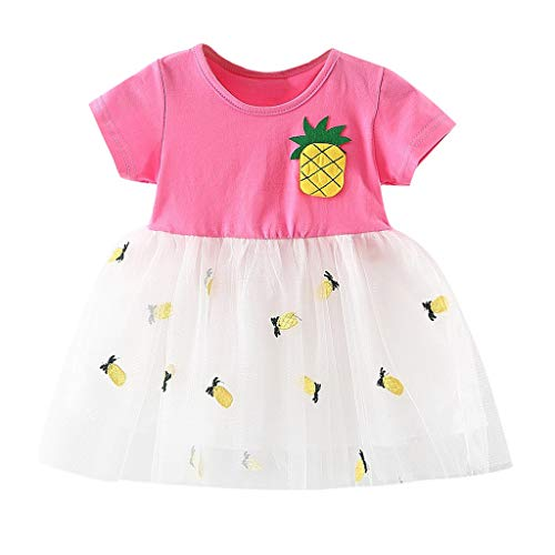 Hanomes Vestidos para Bebés Niña