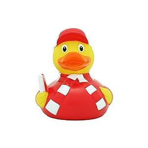 LiLaLu 8 x 8 cm/50 g Collector y Baby Fan Goma Juguete de baño Pato
