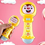 Emob® Cute Face Expression Changer Stick Musical Toy with Light and Sound