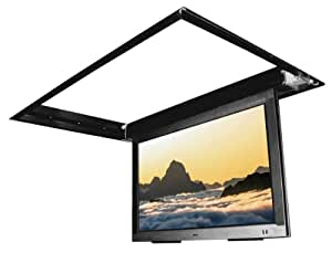 flp 410 in ceiling flip down motorized tv mount for 60 75. Black Bedroom Furniture Sets. Home Design Ideas
