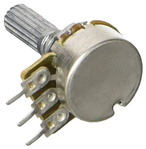 uxcell 6mm Schaft Di AMP B500K 500KΩ Typ B Einzel Linear Potentiometer (4Stück) B500k Potentiometer