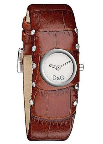 Dolce & Gabbana 353 - Reloj de mujer de cuarzo, correa de piel color marrón