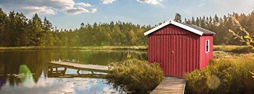 Weka Gartenhaus Schwedenhaus Größe 3 schwedenrot