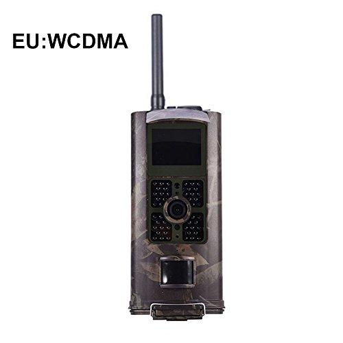 Prom-near 3G Wildkamera 3G Überwachungskamera HC-700G 3G Wasserdichte Weitwinkel Videokamera Überwachungskamera Programmierbare 8/12/16 Megapixel hochwertige Auflösung Super Fast 0.5S Triggerzeit Nachtsicht (EU)