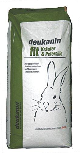 deukanin fit Kräuter & Petersilie 25 kg Kaninchenfutter (Misc.)