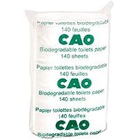 CAO Camping Pack de 2 rouleaux papier toilette