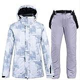 STBB Tuta da Sci Abito da Neve da Uomo E da Donna Abbigliamentodino Imposta Snowboarding Wear Giacche XXXL Pantaloni Giacca da Uomo