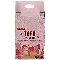 Emily Pets Tofu 6L Flushable Clumping Cat Litter - (Peach)
