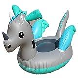 Der riesige aufblasbare kleine Drache, der schwimmende Reihe schwimmt, reift erwachsenes Kinderpool...