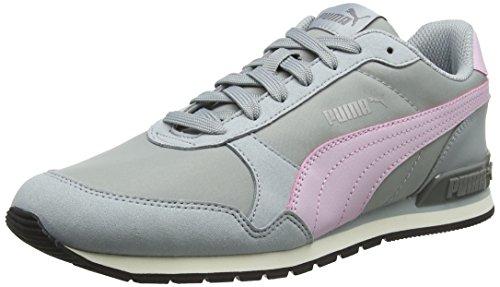 Puma Unisex-Erwachsene St Runner V2 Nl Sneaker, Grau (Quarry-Winsome Orchid 10), 37 EU (4 UK)