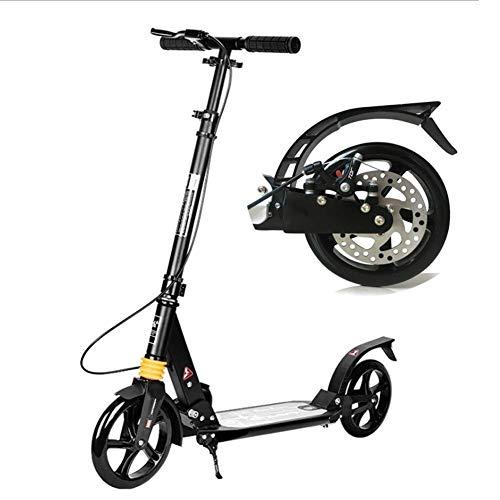 SCOOTERYW Roller Zweirad Folding Double Shock Absorption Aluminiumlegierung Geburtstagsgeschenk Kind Teen Adult