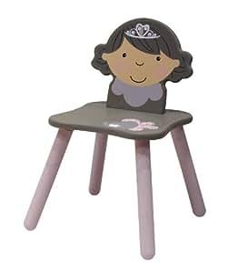 Diabolo Kids Chaise Princesse - Rose et Taupe