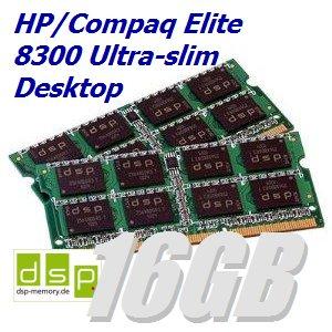 für HP/Compaq Elite 8300 Ultra-slim Desktop (Set aus 2 Modulen) ()