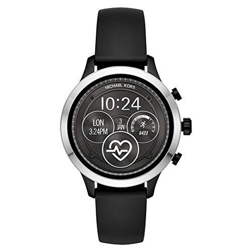 Michael Kors Smartwatch Donna con Cinturino in Silicone MKT5049