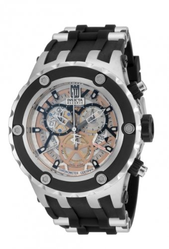 Invicta Jason Taylor Men's Chronograph Quartz Watch with Polyurethane Strap – 14949