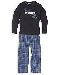 Jungen Schlafanzug mit Webhose - Moonline