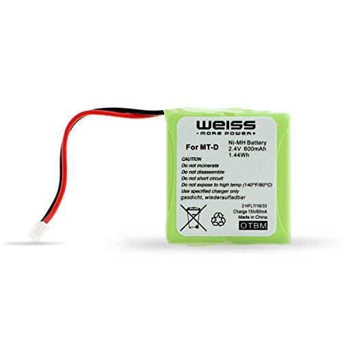 WEISS - more power + Akku für Fritz!Fon MT-D/Audioline gebraucht kaufen  Wird an jeden Ort in Deutschland