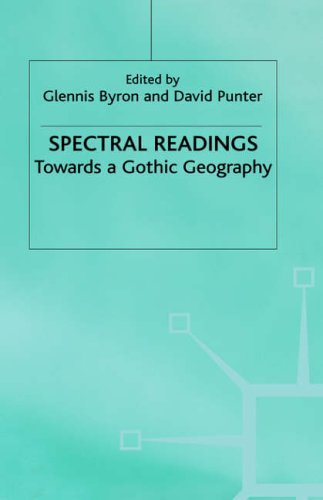 Portada del libro Spectral Readings: Towards a Gothic Geography by Angela Byron (1999-08-02)