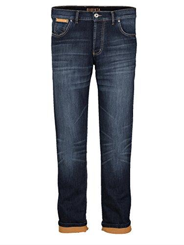 Herren Jog-Denim Jeans in bequemer Sweat-Qualität by Babista Blue Dunkelblau