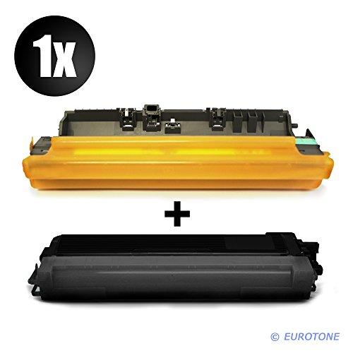Eurotone Toner + Trommel für DCP 9015 9020 9017 9022 CDW ersetzt Brother Schwarze TN-241/TN-242 + DR-241