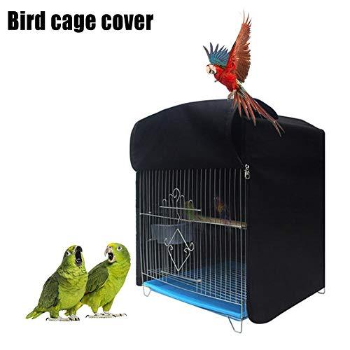 su-luoyu Atmungsaktiv Abdeckungen Für Vogelkäfige Universial Birdcage Cover Vogelkäfig Rock Mit Reißverschluss Seed Catcher Guard Cover, 32 33 44CM