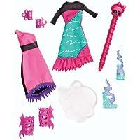 Monster High Crear un monstruo, Sea Monster agregar en el paquete, colores espeluznantes (