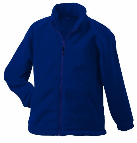 James & Nicholson Herren Jacke Full - Zip - Fleece ÜG, Gr. XXX-Large, Blau (blau navy) (Zip Fleece Full Navy)