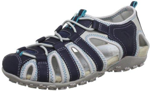 Geox  DONNA ART. D7125U, sandales femme Bleu - Blau (NAVY C4064)