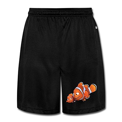 xj-cool-da-uomo-cartoon-nimo-pesce-pantaloni-allenamento-short-pantaloni-nero-black-medium