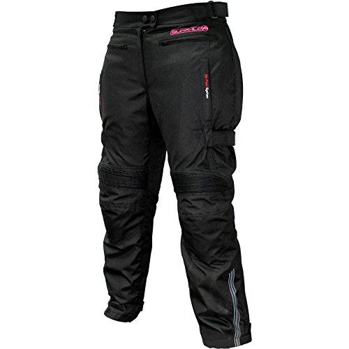 #Buffalo Scope Textile Motorrad Hosen Für Frauen S Black#