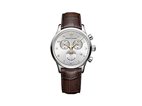 Maurice Lacroix Les Classiques Ladies Quartz watch, Silver, 38mm, Chronograph