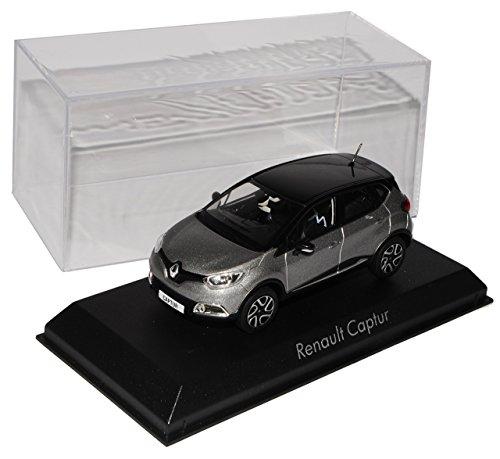 Norev Renault Captur Grau Schwarz Ab 2013 1/43 Modell Auto