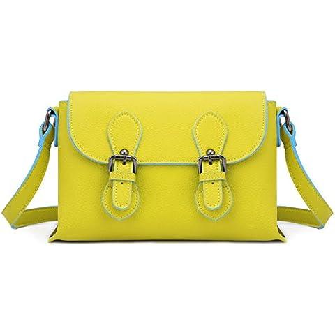 LXL KIU Estate ladies Messenger bag/Cambridge, Inghilterra/Giapponese e coreano moda tracolla (Pelle Cambridge Cartella)