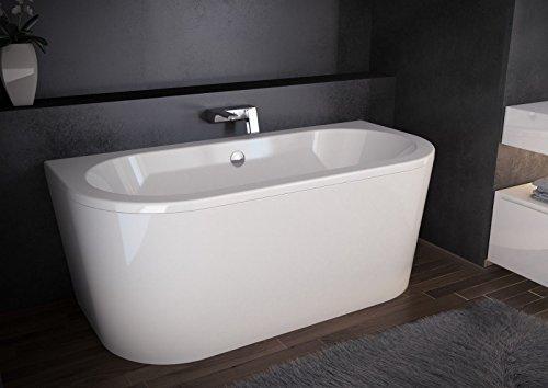 Design freistehende Badewanne VISTA ACRYL (150x75x63 cm)