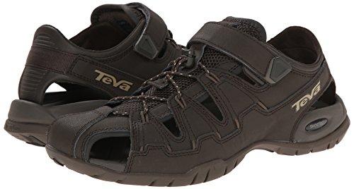 Teva Dozer 4 M's, Herren Sport- & Outdoor Sandalen, Schwarz (964 black olive), 47 EU (12 Herren UK) -