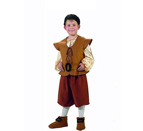Generique - Mittelalterliches Bauern-Kostüm für Jungen