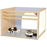 mobeduc Cube für Babys spielen, Holz, Lavendel blau, 100x 70x 100cm preisvergleich bei kinderzimmerdekopreise.eu