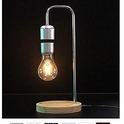 Lámpara de luz de suspensión retro lámpara de mesa luz antigravedad lámpara magnética libro de lectura luz geek touch luz de atenuación