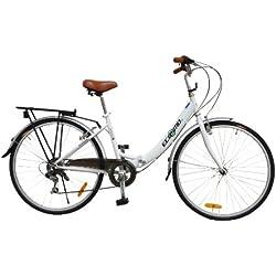 """ECOSMO 26""""Nueva plegable-bolsa de la compra (ciudad bicicleta bicicleta 7SP Shimano 26ALF08W"""