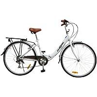 ECOSMO 26ALF08W - Bicicleta plegable